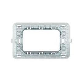 Supporto PVC rettangolare per scatola tonda