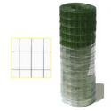 Rete elettrosaldata zincata maglia 12,5x12,5 Filo 1,05 mm