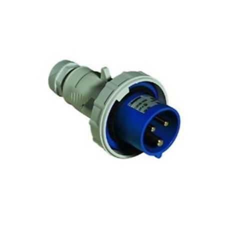 Spina CE IP67 2 Prese + Terra 16A 230V
