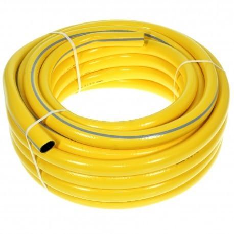 Tubo giardinaggio PVC giallo
