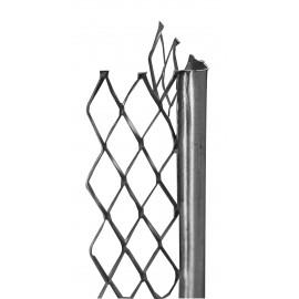 Paraspigolo zincato h 280