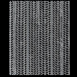 Rete pernervo metal mq 30 0,25