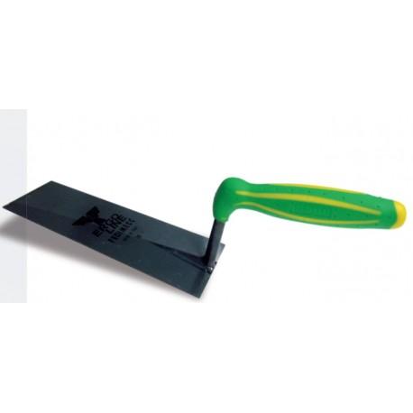 Cazzuola ERGOLINE manico plastica punta quadra 18