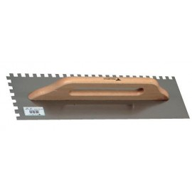Frattone dentato manico legno