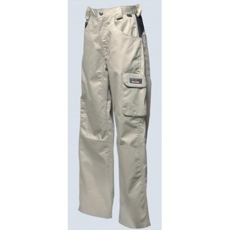 Pantalone beige/nero