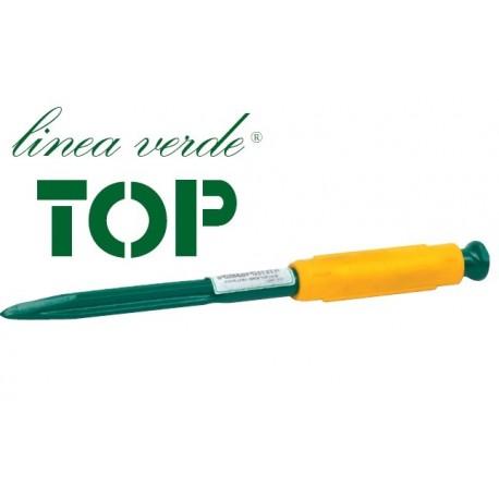Punta linea verde top impugnatura gomma termoplastica