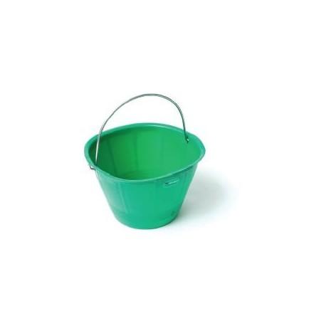 Secchio plastica verde extra