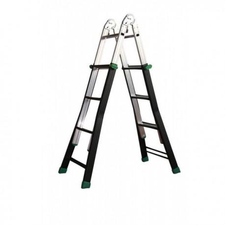 Scala multiuso acciaio-alluminio