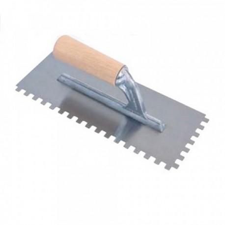 Frattone dentato tipo USA lama inox mm 5x5