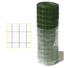 Rete elettrosaldata plastificata maglia 50x75 Filo 2,5 mm