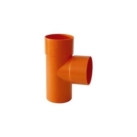 Termo TE PVC arancio