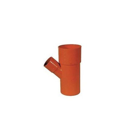 Termobraga ridotta PVC arancio