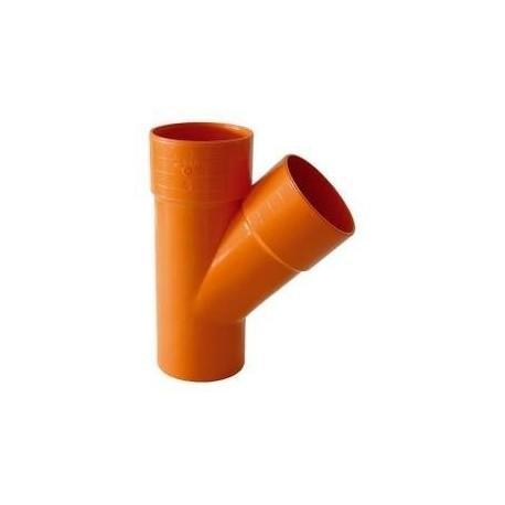 Termobraga semplice PVC arancio