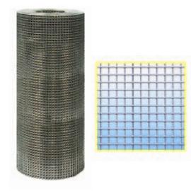 Rete elettrosaldata zincata dopo Maglia 6x6 Filo 0,65 mm