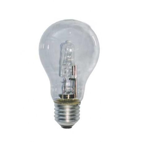 Lampada bulbo chiaro alogeno E/27