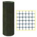 Rete elettrosaldata plastificata Maglia 12,7x12,7 Filo 1,4 mm