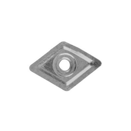 Rondella in plastica per chiodi autofilettanti